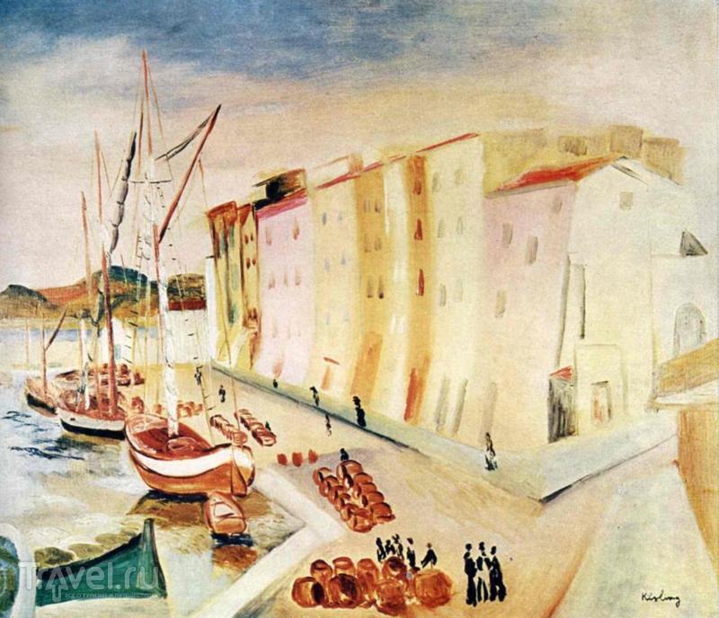 Сен-Тропе - город жандармов и импрессионистов / Франция