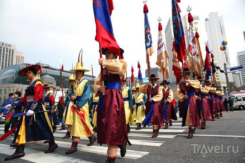 Пешеходный Сеул / Южная Корея