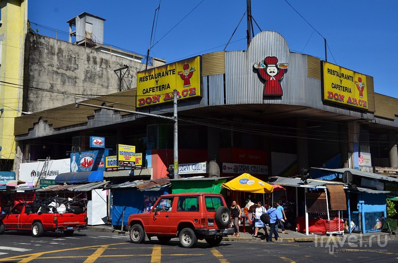 Всякая жесть на улицах Сан-Сальвадора / Сальвадор