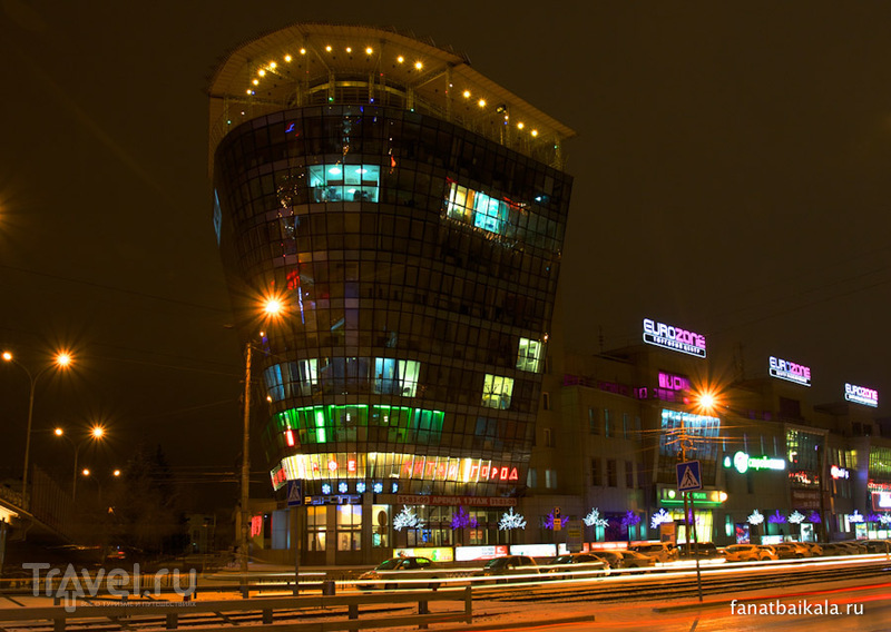 Огни ночного города / Россия