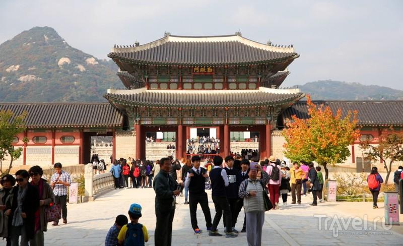Сеул - Кёнбок-кун. Дворцовые зарисовки / Южная Корея