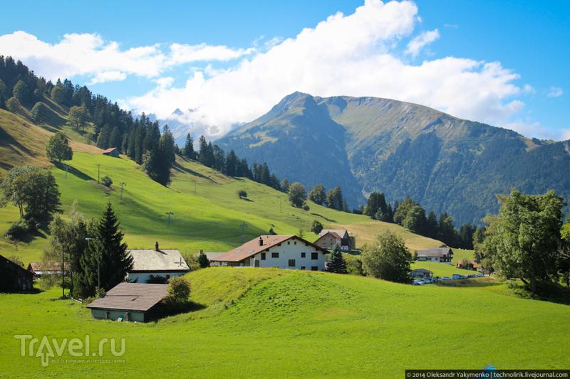 Необычная швейцарская деревня / Фото из Швейцарии