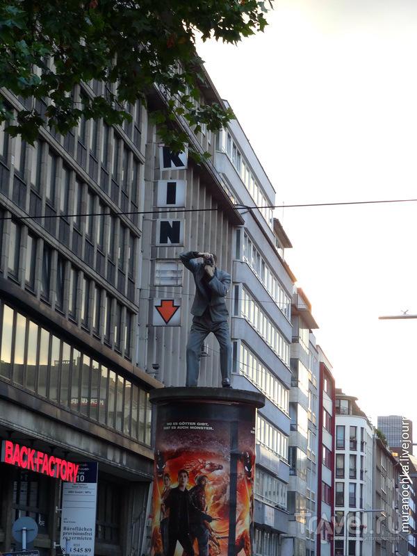Дюссельдорф скульптурный: красиво, круто, креативно! / Германия