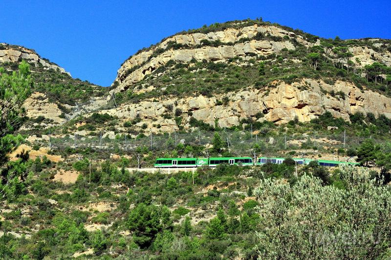 Испания, гора Монсеррат / Фото из Испании