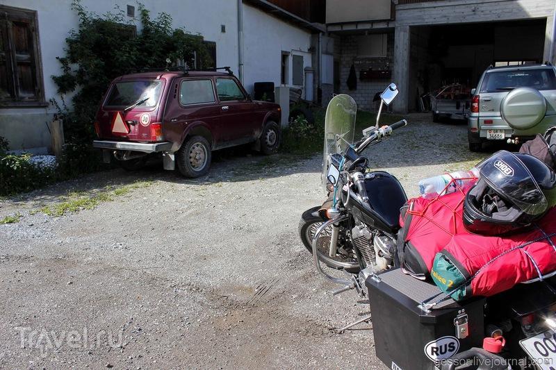 Нива на дорогах Европы / Италия