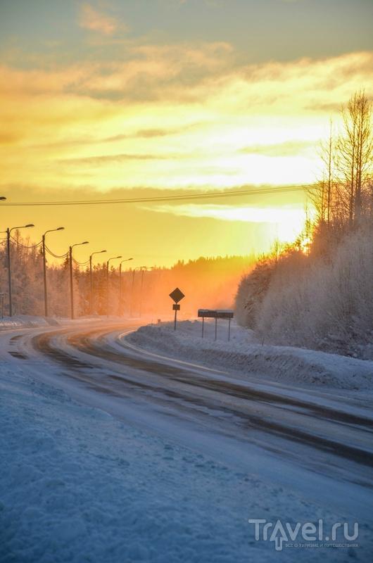 Когда не может быть холоднее: Финляндия, заполярье / Финляндия