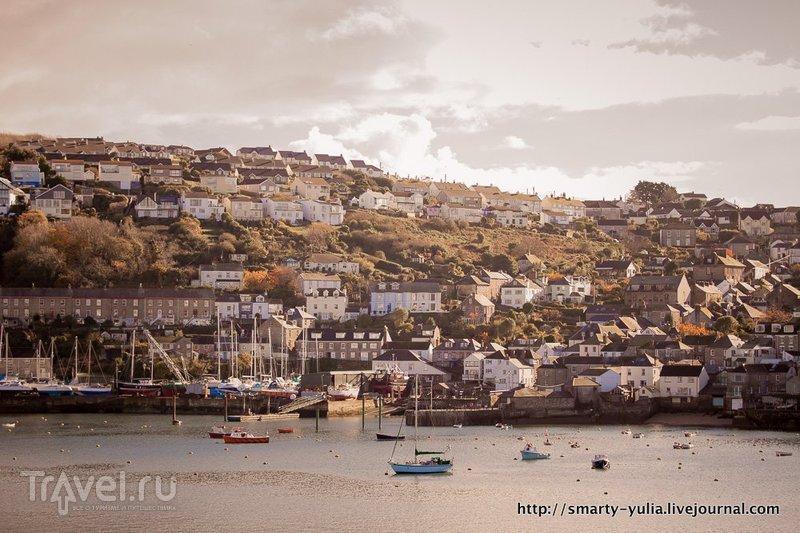 Фоуи - очаровательная деревня Корнуолла / Фото из Великобритании