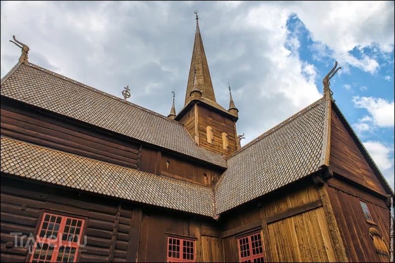 Around the Norge. Ставкирка в Ломе / Норвегия