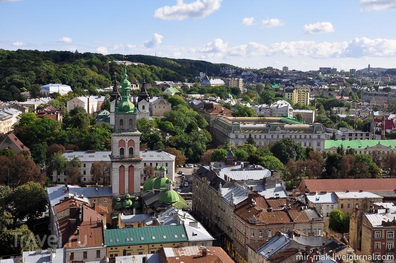 Львовские крыши / Фото с Украины