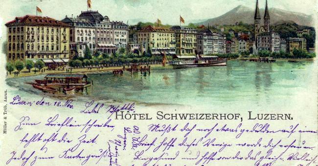 В Люцерн со Львом  Толстым / Фото из Швейцарии