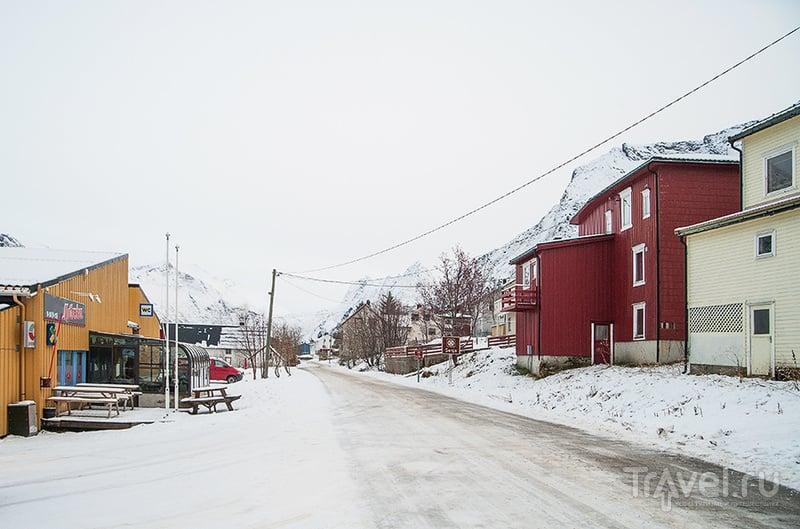Заполярная Норвегия. Деревушка Gryllefjord / Фото из Норвегии