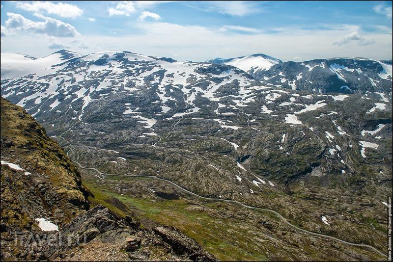 Around the Norge. Dalsnibba / Фото из Норвегии