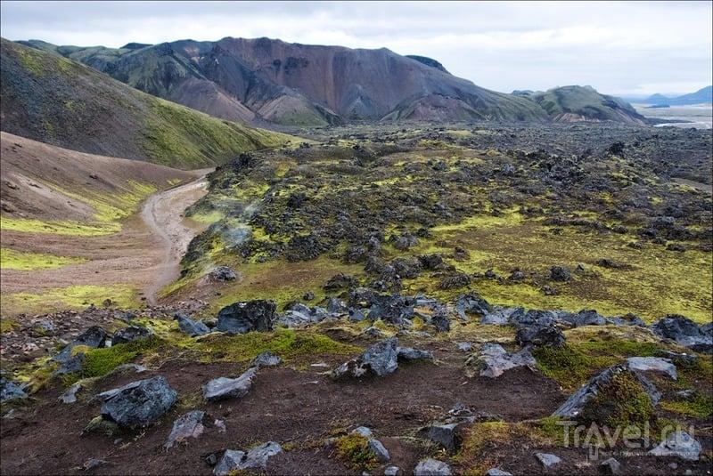 Исландия, цветная Ландманналойгар / Фото из Исландии