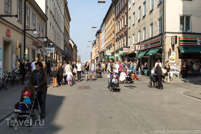 Прогулка по Стокгольму, парк Скансен и аттракционы / Швеция
