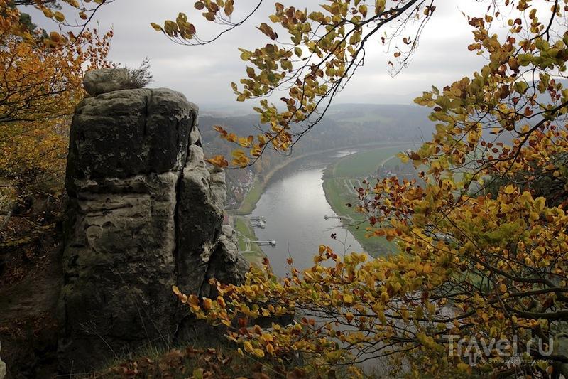 Саксонская Швейцария, прогулка к мосту Бастай / Фото из Германии