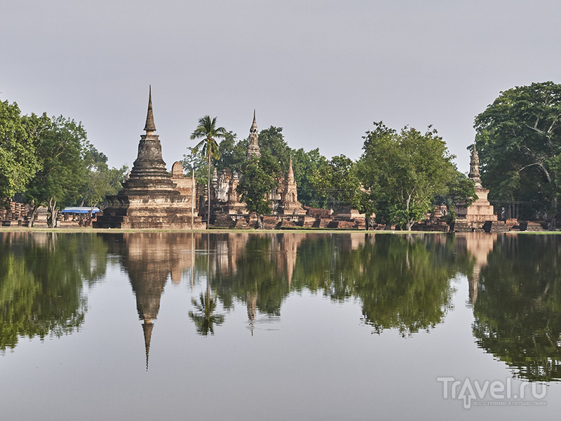 Сукхотай - транзитный город на пути с севера на юг / Таиланд