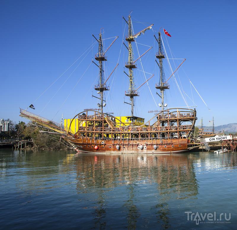 Манавгат - река заснувших кораблей / Турция