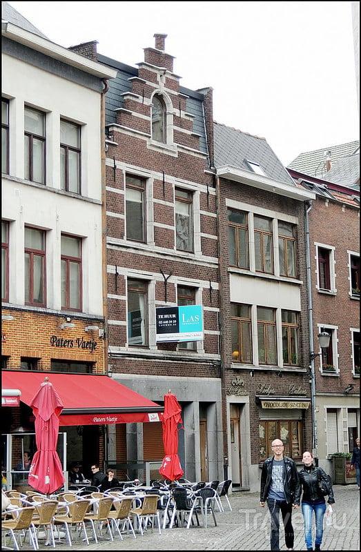 Антверпен. Handschoenmarkt / Фото из Бельгии