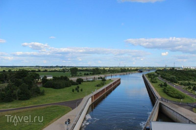 Магдебургский водный мост / Германия