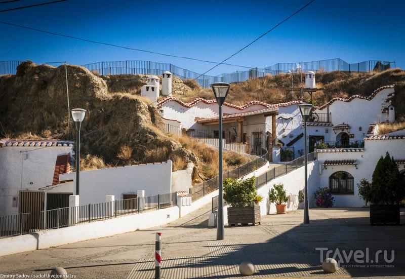 Пещеры троглодитов - телевизор, кондиционер и все удобства / Испания