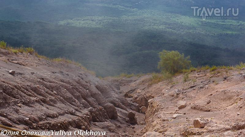 Подъем к кратеру Везувия / Фото из Италии