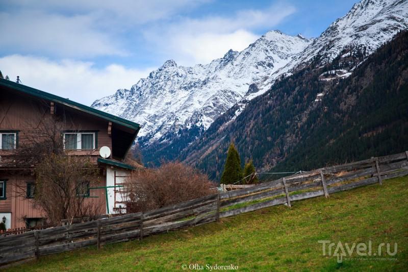 Долина Эцталь (Ötztal) в Австрийских Альпах / Австрия