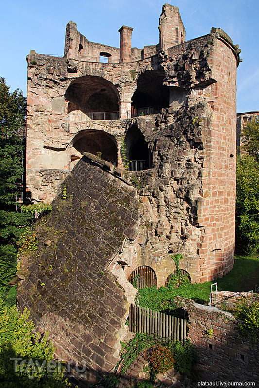 Хайдельбергский Замок / Фото из Германии