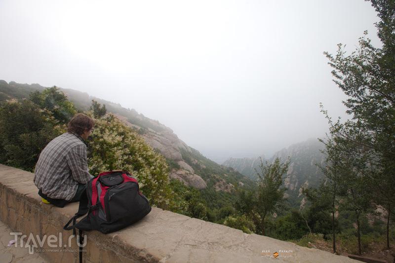 Испания. Монсеррат. Гора и монастырь / Испания