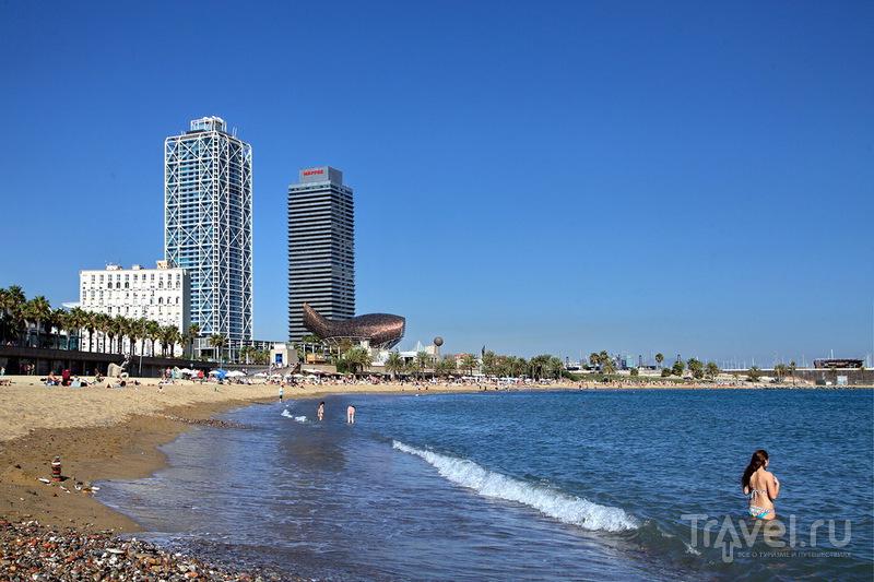 Пляж Барселонета / Фото из Испании