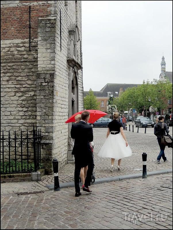 Лир (Lier). Бельгия. Прогулка вдоль реки Нете / Бельгия