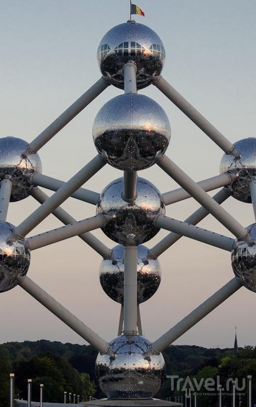 Брюссель: Атомиум / Фото из Бельгии