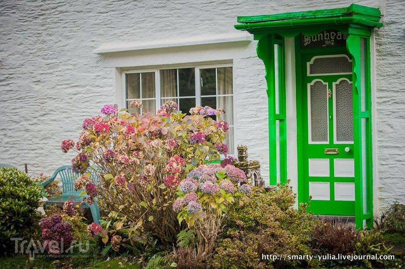 Полперро  - живописная рыбацкая деревушка Корнуолла / Фото из Великобритании