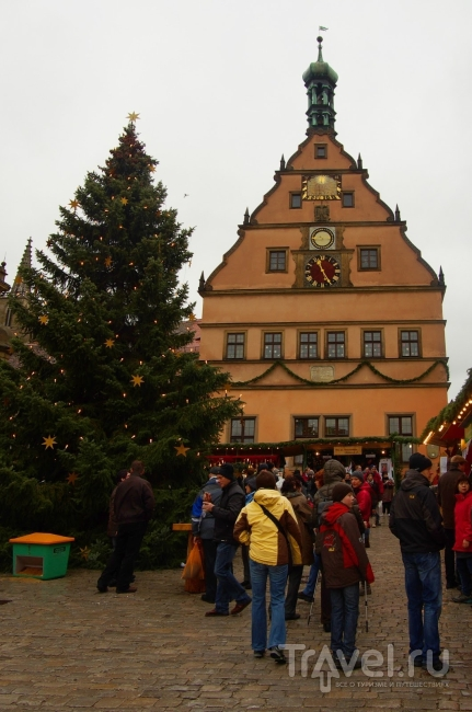 Ротенбург в декабре / Германия