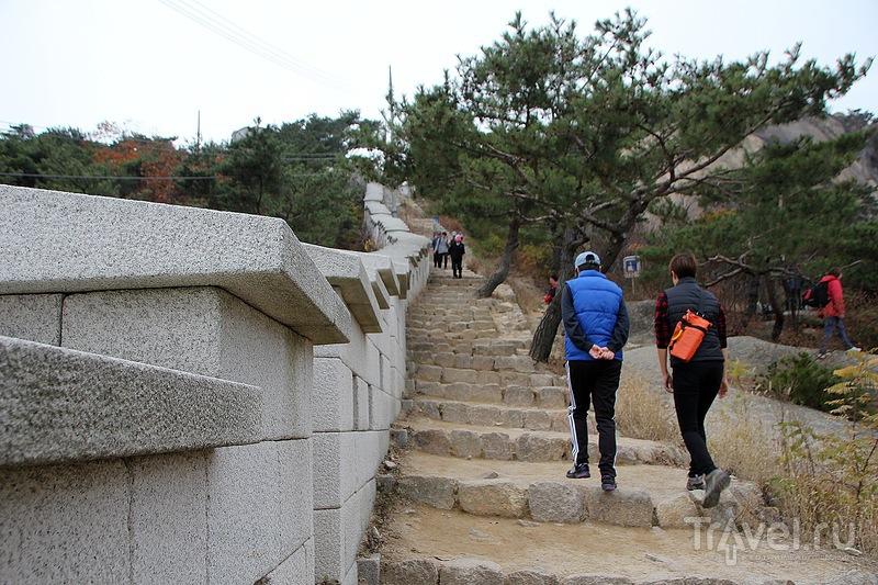 """Гора Инвангсан и """"великая корейская стена"""" / Фото из Южной Кореи"""