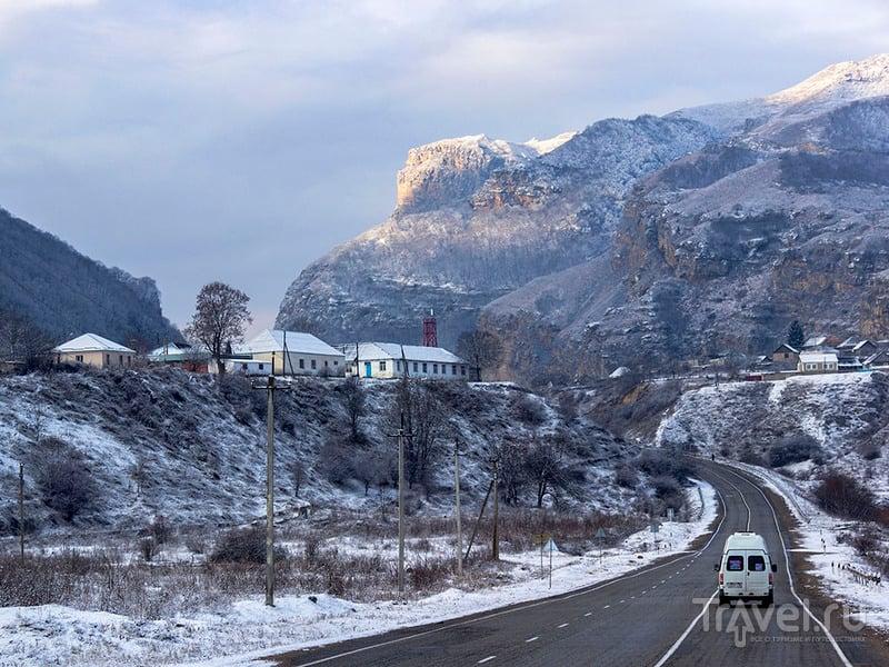 Зима на Северном Кавказе / Россия