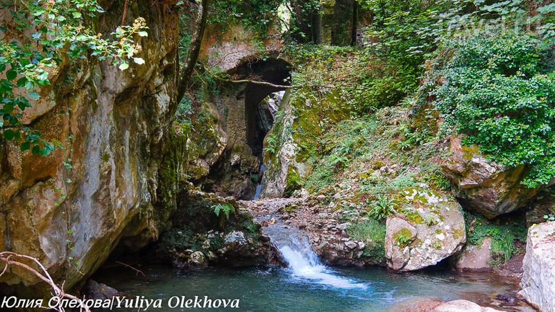 Поход к водопадам в Valle della Ferriere, Амалфи / Фото из Италии