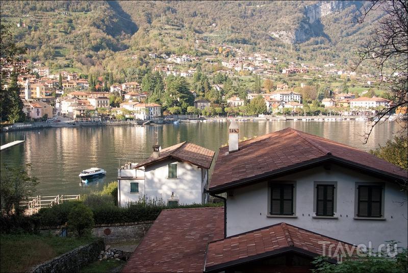 Золотая осень Комо: виллы Карлотта, Бальбьянелло и фуникулёр в Argegno / Фото из Италии