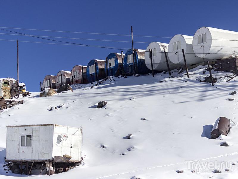 Эльбрус. Канатная дорога. На верхней станции / Фото из России