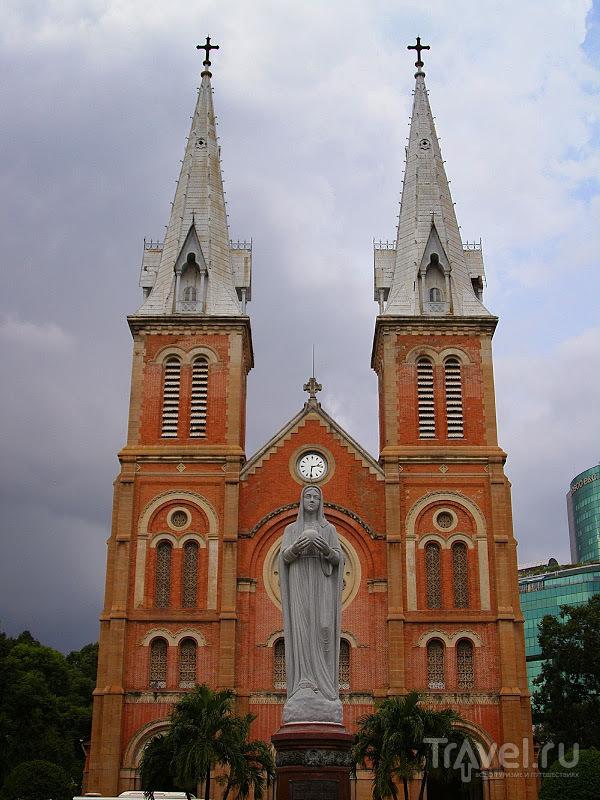 Вьетнам. Собор Сайгонской Богоматери / Вьетнам