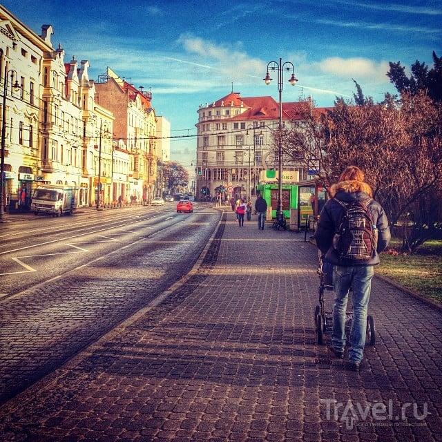 Как мы познакомились с городом Быдгощ / Польша