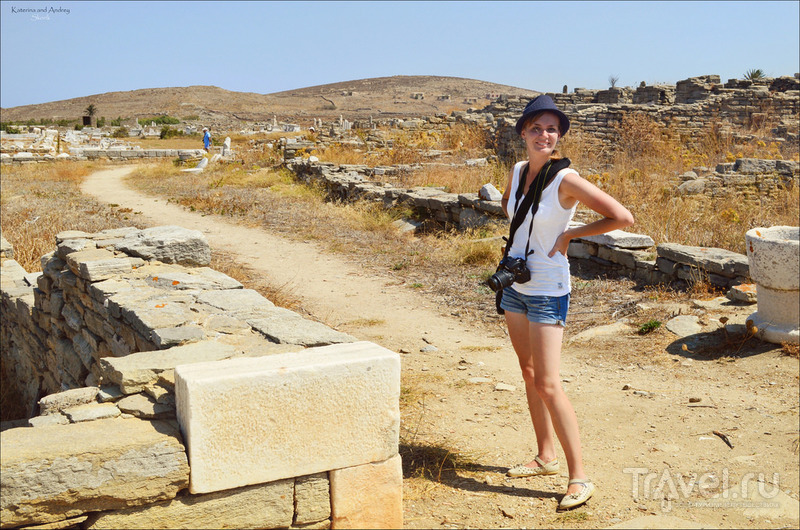 Делос - святилище Аполлона / Фото из Греции
