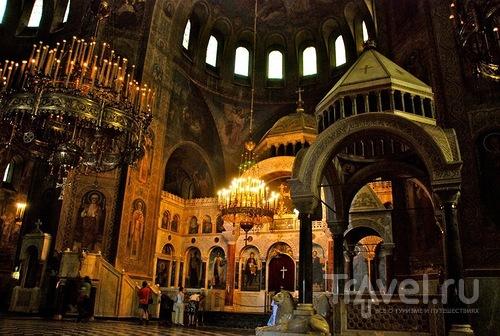 Русский уголок в Париже. Собор Святого Александра Невского (Cathédrale St-Alexandre-Nevsky) / Франция
