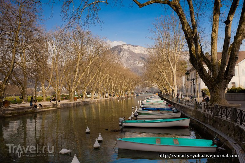 Анси: французская Венеция! / Фото из Франции
