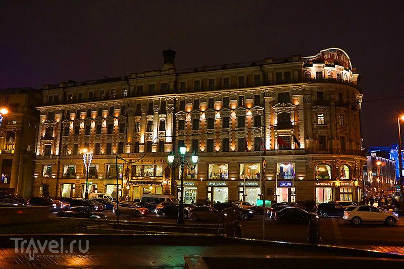 Три площади в Москве / Россия