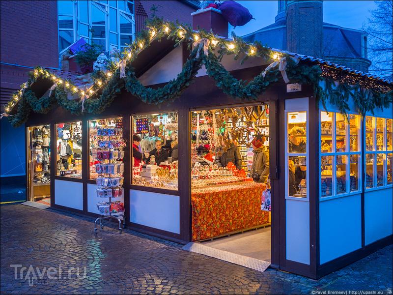 Рождественская ярмарка в Мюнстере / Фото из Германии