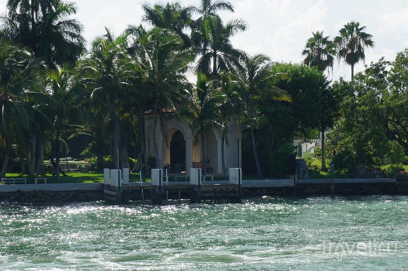 Майами, круиз вокруг острова миллионеров / Фото из США