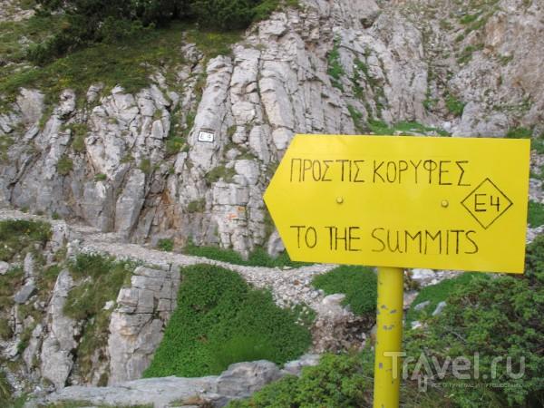 Восхождение на Митикас (он же Олимп) - практические советы / Греция
