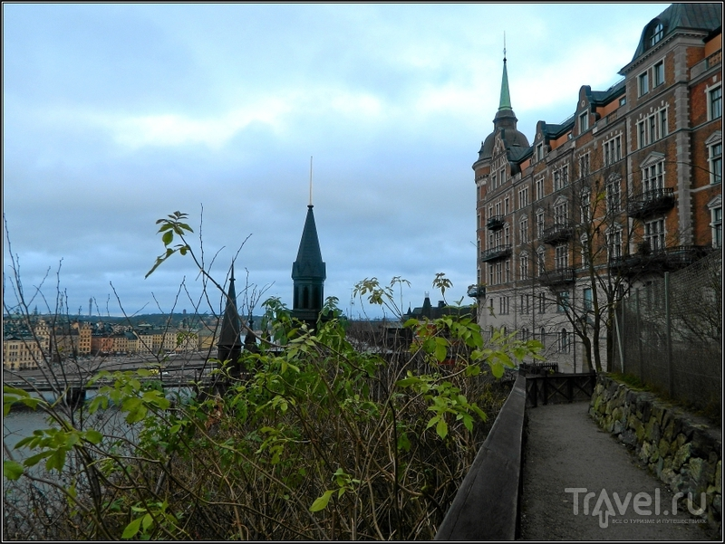 Стокгольм. Сёдермальм и Глобен-Арена / Фото из Швеции