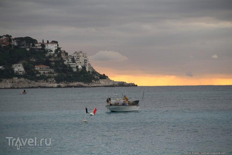 Рассвет над Ниццей / Франция