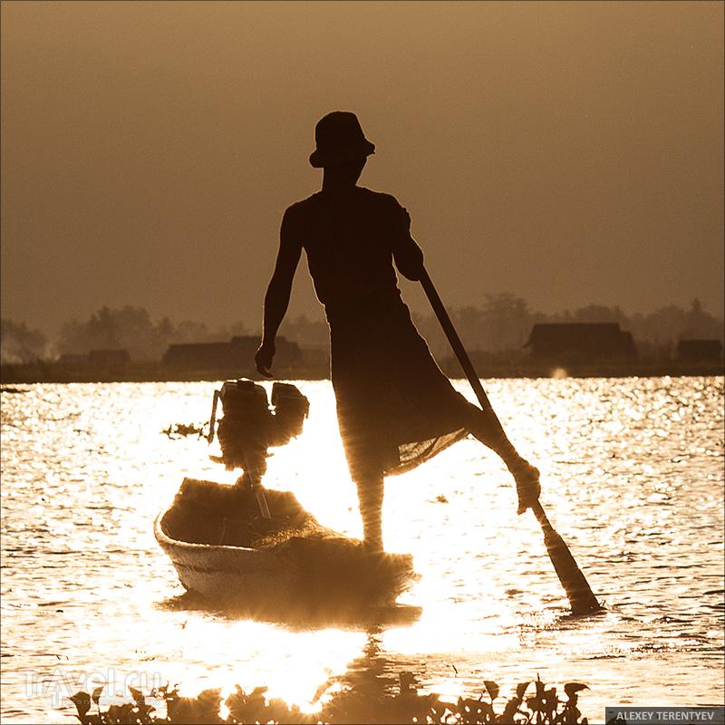 Гребем ногой... Мьянма / Мьянма
